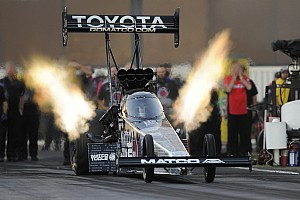 NHRA Breaking news Two-time Top Fuel World Champion Antron Brown ready to defend Crown