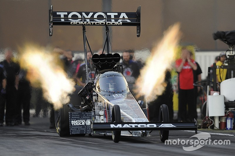 Two-time Top Fuel World Champion Antron Brown ready to defend Crown