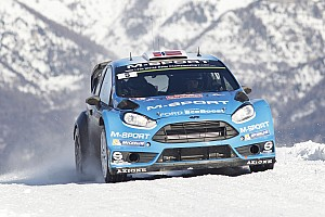 WRC Leg report Østberg primed in podium position