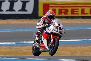 World Superbike Practice report WorldSBK: Van Der Mark tops Thai Friday