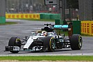 Mercedes in Melbourne: Hamilton Top, Rosberg Flop