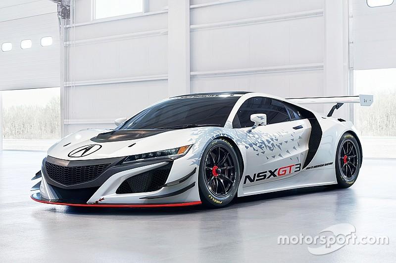 Honda stellt in New York neuen GT3-Sportwagen vor