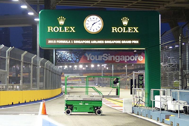 П'ять ключових питань перед Гран Прі Сінгапуру