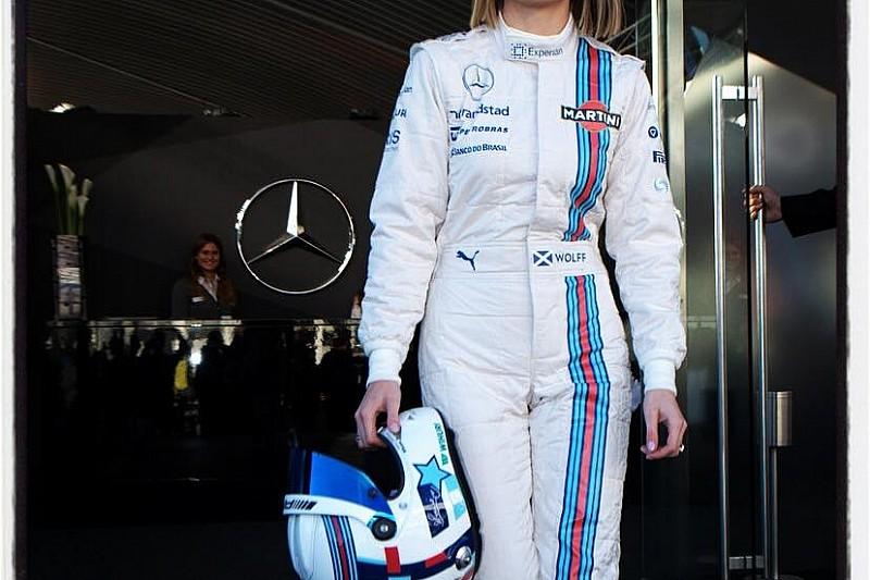Сьюзи Вольфф стала тест-пилотом команды