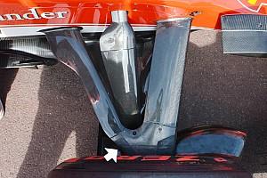 Ferrari: più angolo di sterzo per svoltare al Loews