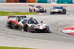 Asian Le Mans Practice report Wineurasia Motorsport on top after Free Practice