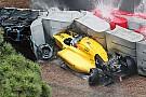 Palmer ha rischiato i piedi nel crash finale a Sainte Devote!