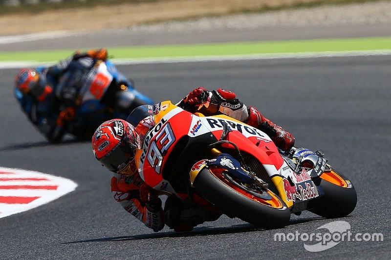 MotoGPカタルニア:マルケスがポールポジション。ロレンソ2番手