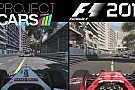 Project CARS Vs. F1 2015 Monacóban