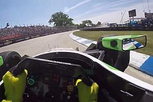 IndyCar BRÉKING Színház szombatra: Daly és Montoya is elvisz egy körre az IndyCarban