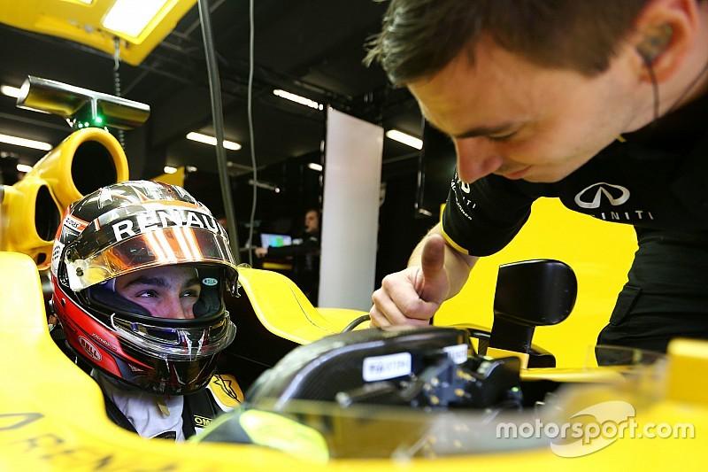 Esteban Ocon en Essais Libres 1 avec Renault