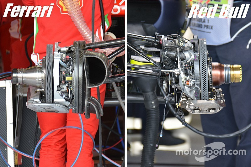 Technique - Comment Red Bull et Ferrari règlent leurs freins
