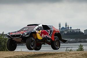Cross-Country Rally Etappenbericht Silk Way Rally 2016: Doppelführung und Überschlag für Peugeot
