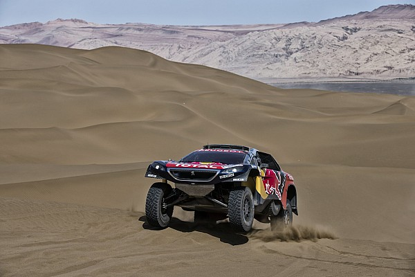 Rallye-Raid Résumé de course Despres et Castera remportent le Silk Way Rally