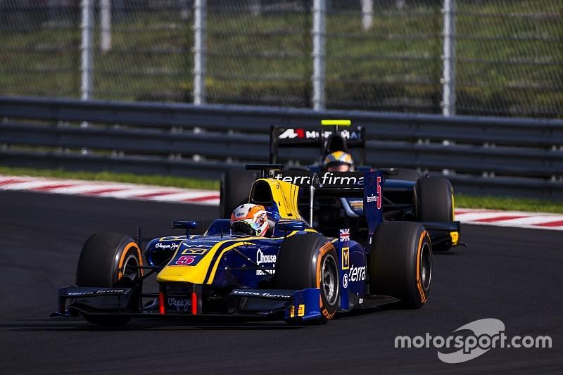 林恩:明年不再跑GP2!