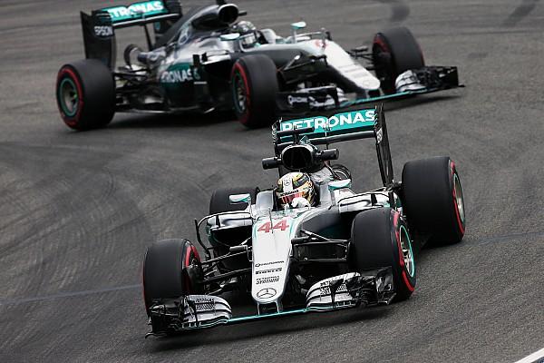 Formule 1 Actualités Mercedes - Hamilton décrit