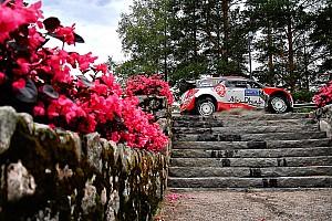 WRC Rapport d'étape
