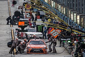 NASCAR Sprint Cup Breaking news JGR looks to (pit) stop the competition