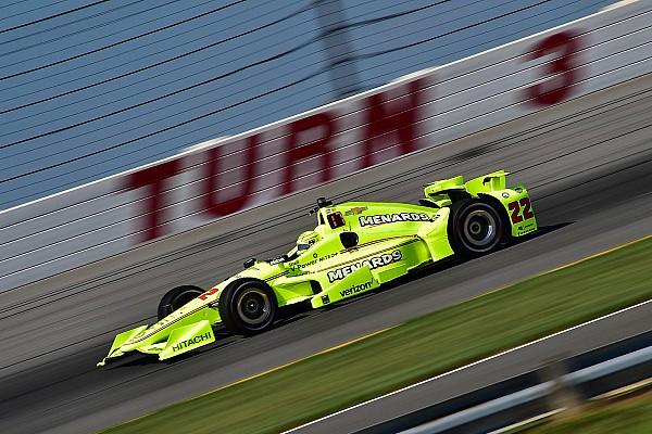IndyCar Actualités Championnat - Plus que 20 points d'avance pour Pagenaud