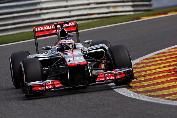 Formula 1 Breaking news Button says Spa Q2 lap was good as 2012 pole effort