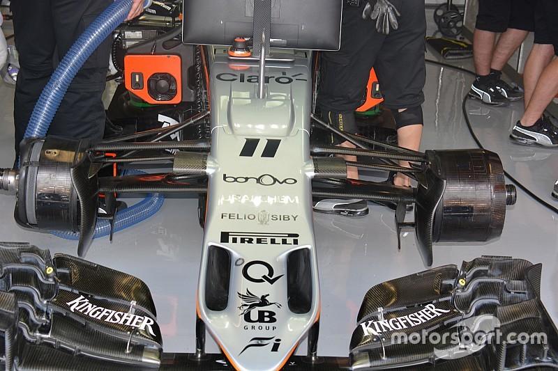 技术短文:印度力量VJM09赛车前轮非对称制动方案