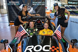 Die Teilnehmer am Race of Champions 2017 in Miami