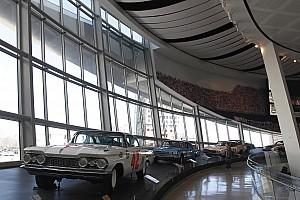NASCAR Sprint Cup Breaking news NASCAR Hall of Fame damaged during violent protests