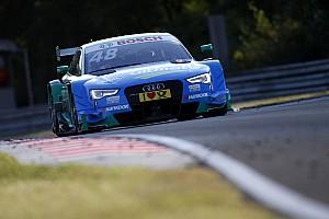 DTM Отчет о квалификации Гонщики Audi заняли первые восемь мест в квалификации на Хунгароринге