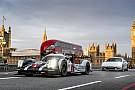 Galeria: Webber anda com Porsche LMP1 nas ruas de Londres