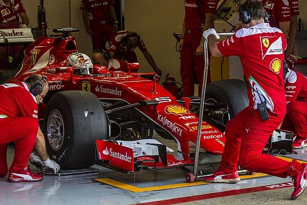 Formule 1 Actualités Vettel - Les F1 modifiées ne représentent pas l'appui 2017