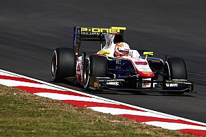 GP2 Отчет о гонке Гьотто одержал победу во второй гонке, Гасли добрался до подиума