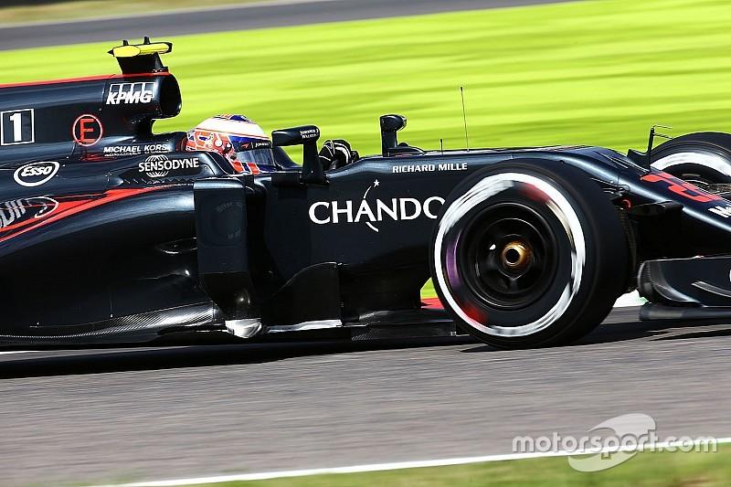 バトン「タイヤの劣化が激しく本調子ではなかった。予選はトップ10入りを目指す」