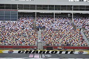 NASCAR Sprint Cup Breaking news Friday track activity at Charlotte canceled due to weather