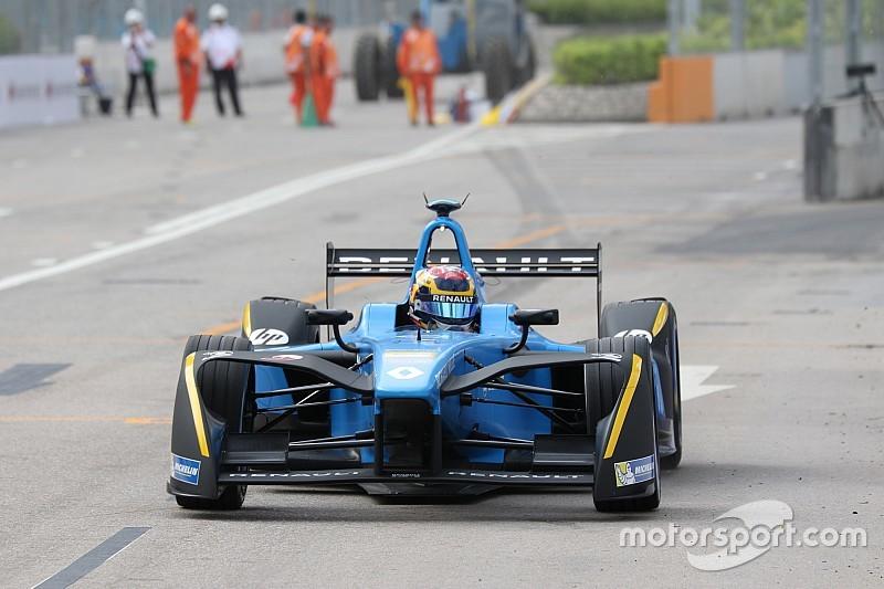 フォーミュラE開幕戦香港ePrix決勝:昨年王者ブエミが貫禄勝ち。PPのピケは不運に見舞われ11位