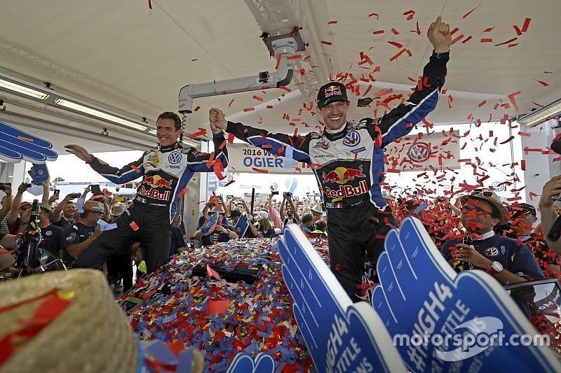WRC:オジェ、WRCチャンピオン4連覇達成! ラリースペインで優勝飾る