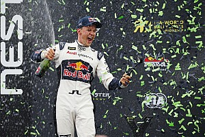 World Rallycross Réactions Ekström -