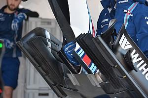 Teknik Güncelleme: Williams FW38 yeni ön kanat