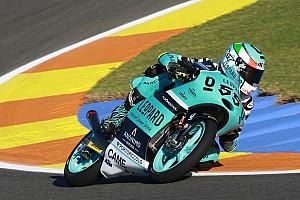 Moto3 Prove libere Valencia, Libere 3: bella zampata di Locatelli, si conferma Guevara