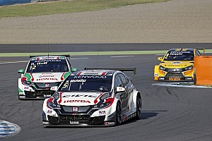 WTCC Nieuws Honda dertig kilo lichter tijdens WTCC-finale Qatar