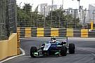 F3 Macao: Da Costa primero en una sesión accidentada. Juncadella, quinto
