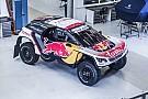 Dakar Peugeot zeigt Autodesign für Rallye Dakar 2017