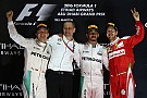 F1阿布扎比正赛:汉密尔顿竭尽全力,罗斯伯格圆梦总冠军