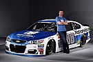 NASCAR Sprint Cup Dale Jr. revela pintura de carro de 2017
