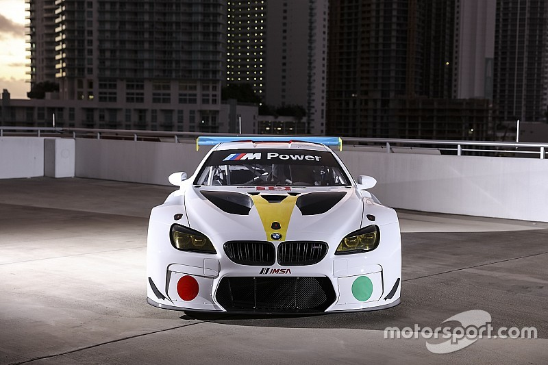 BMW zeigt Art-Car für 24h Daytona 2017