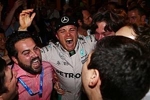F1 速報ニュース 【F1】ニコ・ロズベルグ、今季限りでのF1引退を発表「夢を叶えた」