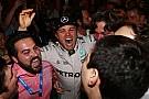 【F1】ニコ・ロズベルグ、今季限りでのF1引退を発表「夢を叶えた」