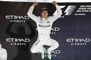 Formule 1 Actualités Hommages à Rosberg- Un seul mot: