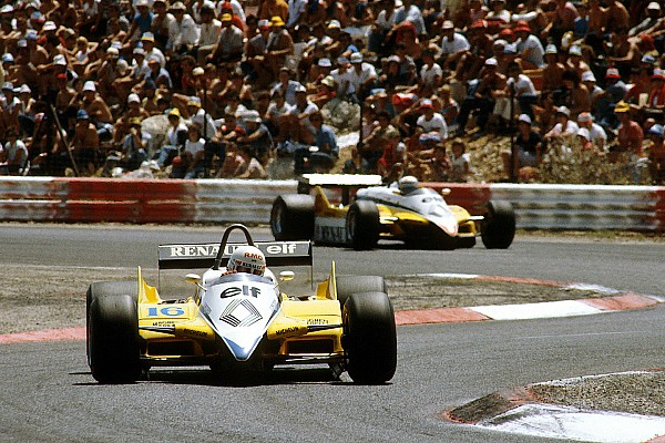 Formule 1 Nostalgie Paul Ricard 1982 - Arnoux, Prost et Renault, quel pastis !