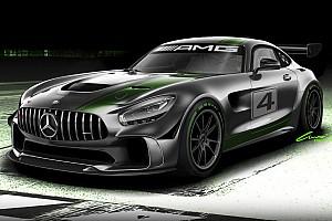 GT News Mercedes-AMG präsentiert neuen GT4-Sportwagen