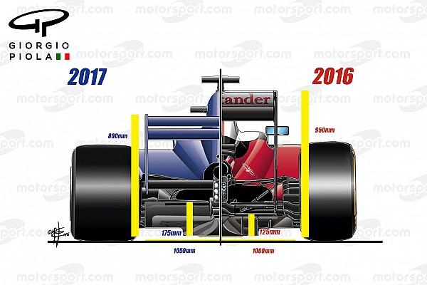 Formel 1 Analyse Technikanalyse: Das ändert sich zur Formel-1-Saison 2017